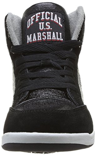 US Marshall Douna Damen Sneaker Schwarz - Noir (Noir/Argent)