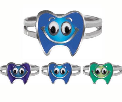 Rousek Moody Tooth Ring, Package of 36
