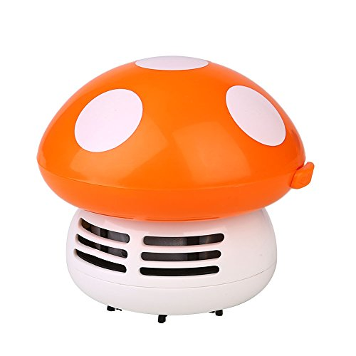 OYJJ Aspirador de escritorio creativo pequeña máquina de limpieza, inteligente y práctico en forma de seta esquina de la...