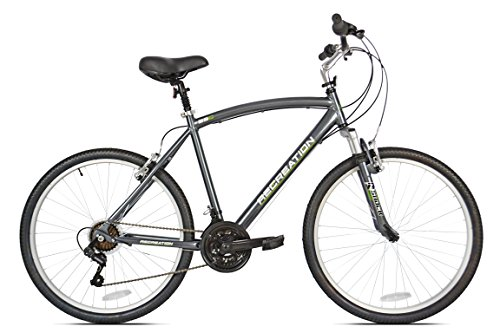 "Recreation Northway Comfort Bike, Grey, 20""/Large"