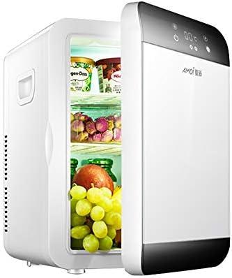 20Lデュアルコア冷凍車の冷蔵庫車と家のコンパクトクーラー/ウォーマー液晶デジタル温度制御シングルドア電子ミニ冷蔵庫