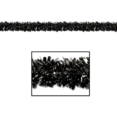 Beistle 50281 BK Resistant Metallic Festooning