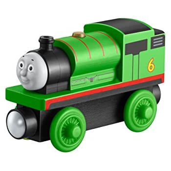 Fisher Price Thomas Friends Wooden Railway Percy