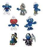 : Schleich Halloween 7-pc Smurf Set