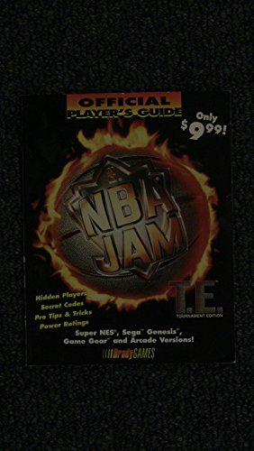 Price comparison product image NBA JAM Tournament Edition, Official Player's Guide (Official Strategy Guides)