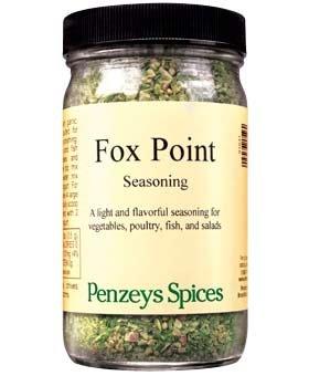 Fox Point Seasoning By Penzeys Spices 2.5 oz 1 cup jar