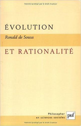 En ligne téléchargement gratuit Evolution et rationalité pdf, epub