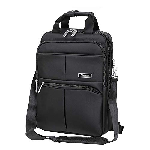 (NZII 3 in 1 Business Laptop Backpack, Men Women Convertible Messenger Bag with Headphone Port, Travel Computer Shoulder Bag(8880)