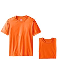 Hanes Big Boys' Short Sleeve Cool DRI Tee Pack of 3