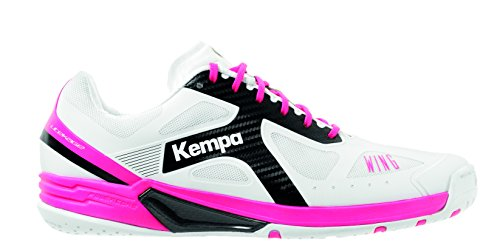 Weiß Fucsia Kempa Lite 000 Women Wing Blanco Handballschuhe Negro Damen qaa8XxwU