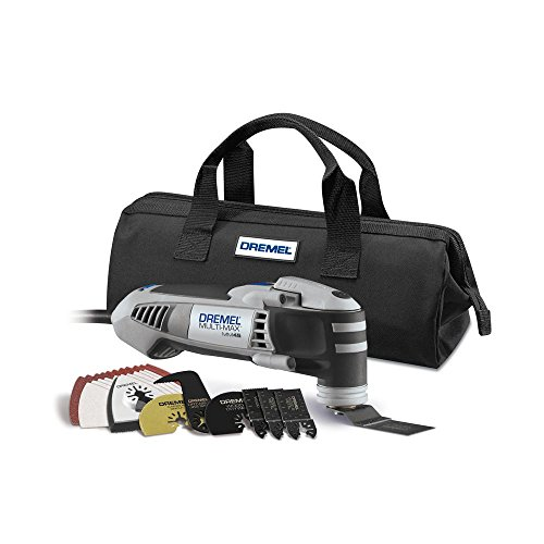 Dremel Multi-Max 5 Amp Variable Speed Corded Oscillating Multi-Tool Kit with 28 Accessories and Storage Bag