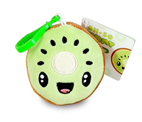 Scentco Fruit Troop Backpack Buddies - Scented Plush Toy Clips - Kiwi