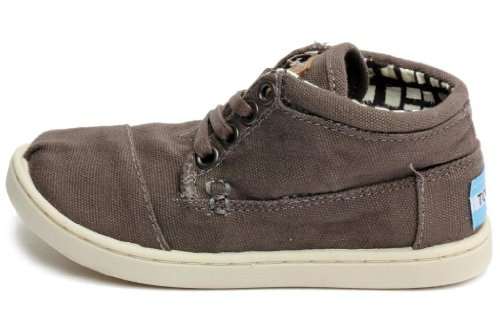 Toms Boats Ash Canvas Youth