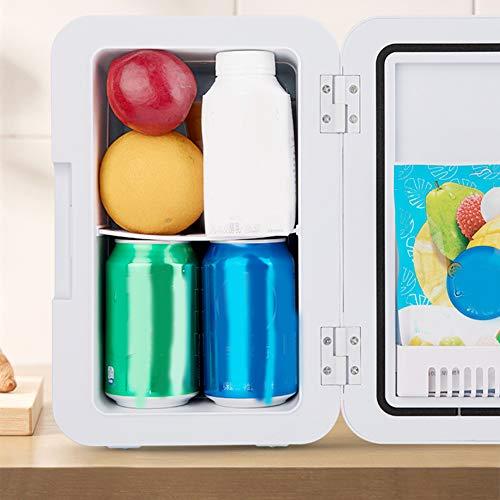Monkys Car Refrigerator Table Top Mini Fridge Cooler & Warmer Car Compressor Refrigerator Dormitory Fast Refrigeration Box 8L