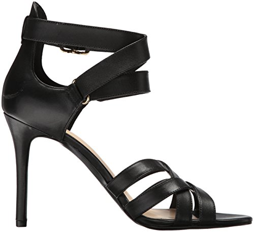 McGlynn Heeled Black Leather Sandal Leather West Women's Nine EqpWawI7Tn