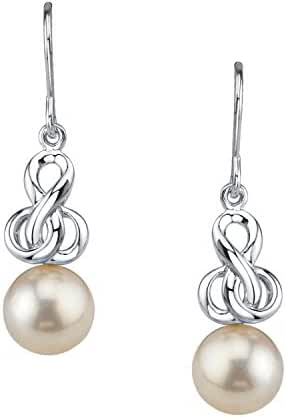 White Akoya Cultured Pearl Adrian Earrings