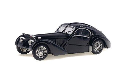 Solido S4302500 1:43 1937 Bugatti Type 57 SC - Black