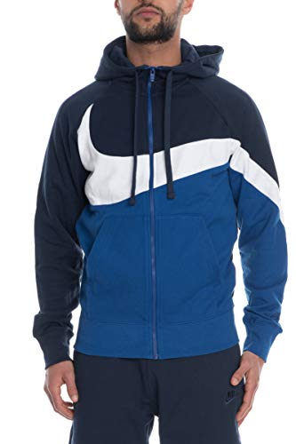 Fz Nike Ft Obsidian Homme indigo in Force Stmt Hbr M Sweat white shirt Hoodie Nsw xqwrqaIg