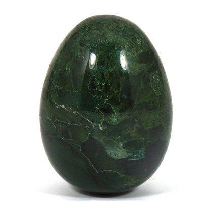 Crocon Gema de ágata de musgo tallada a mano con cristales curativos para meditación, chakra, equilibrio y decoración del hogar (sin…