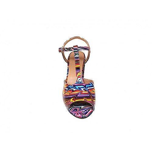 Sandales Multicolore Gennia Sandales Pour Gennia Multicolore Femme Pour Femme Gennia Sandales wpqSBBA0