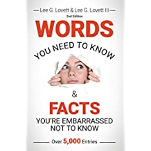 WORDS You Need to Know & FACTS You're Embarrassed Not to Know