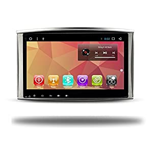 Android 7.1 Quad Core 2G RAM Car Radio GPS 10.2 Inch Navi for Toyota Land Cruiser 100 LC100 Lexus IX470 1998-2009 With Bluetooth Wifi Navigation