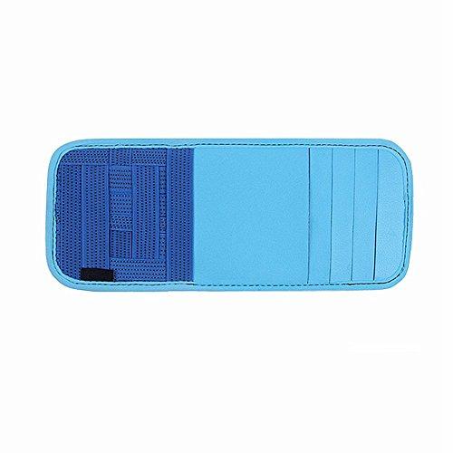car visor organizer blue - 5
