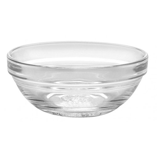 - Duralex - Lys Stackable Clear Bowl 6 cm (2 3/8 in.) Set of 4