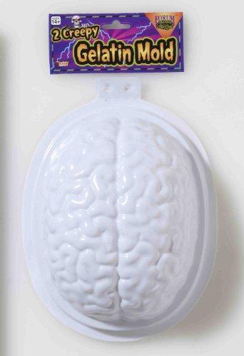 Halloween Brain Gelatin Mold - set of 2 -