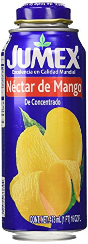 Cans Jumex - Jumex Lata Botella Mango, 16 Ounce (Pack of 12)