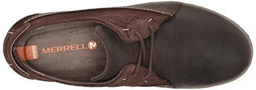 Merrell Ashland lazo del zapato Coffee Bean