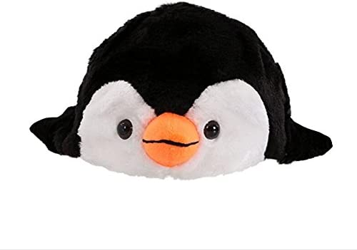 Rcdxing 1/PC Chapeau Animal Dessin anim/é Pingouin Capuchon en Peluche Fluffy Enfants Cadeau Hiver Cosplay Masque