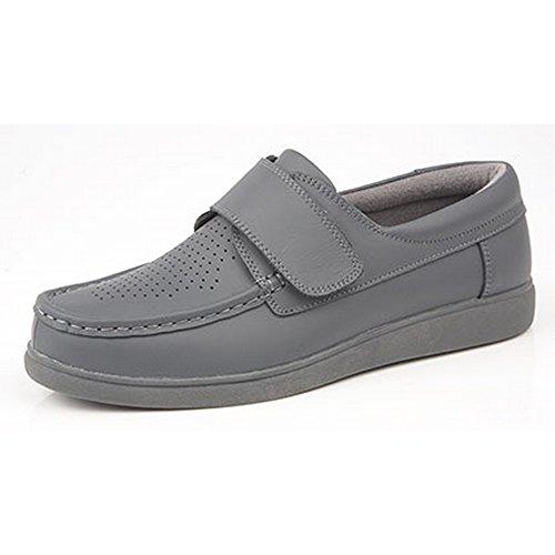 Dek Erwachsene / Unisex Touch Befestigung Bowling Schuhe Grau