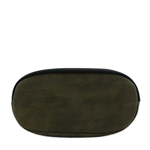 Bag Bucket Accent Crossbody Black Olive Tassel 5HtqxwnSPq