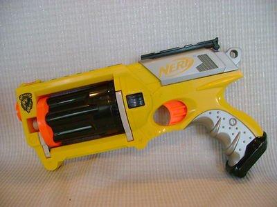 NERF N-STRIKE MAVERICK REV-6 DART GUN - Nerf N-strike Maverick Blaster