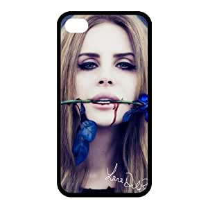 Customize Famous Singer Lana Del Rey Back Case for iphone 4,4S JN4S-1502