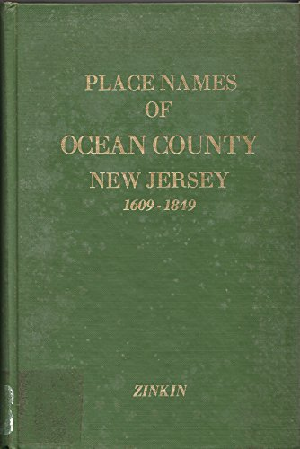 Place Names of Ocean County, New Jersey ()
