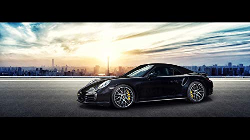 OCT Tuning Porsche 911 Turbo S Car Poster Print #2 (24x36 Inches) ()