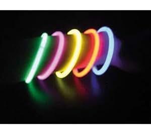 TIKOO Tubo de 100 pulseras luminosas (LU8458)