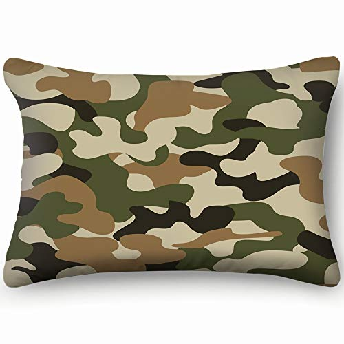 jtykftuf Modern Fashion Trendy camo camo Throw Pillow Case Cushion Cover Double Side Design 20