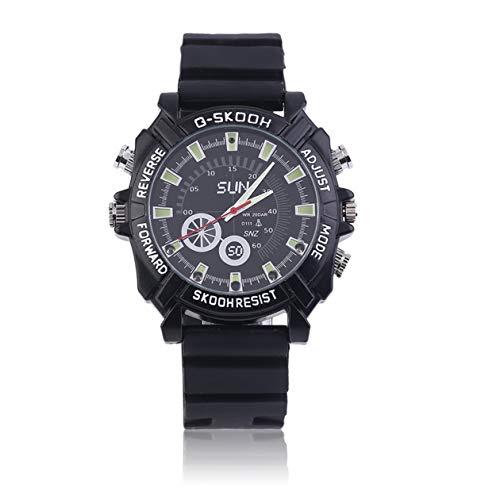 Hd Waterproof Spy Watch Camera Camcorder 8Gb - 3