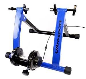 Ultrasport - Set de rodillo de bicicleta con cambio de marchas, certificado de seguridad TÜV
