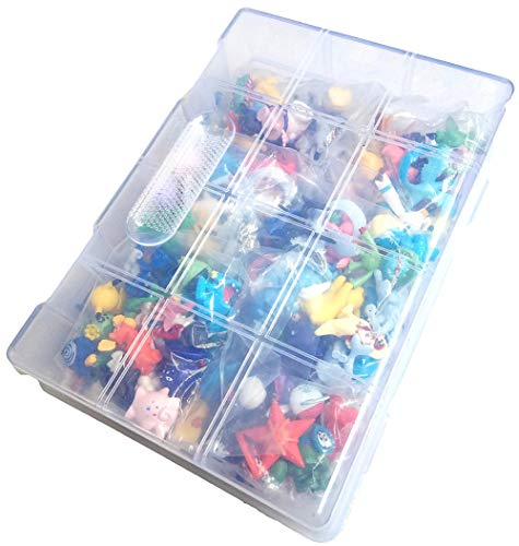 Toy, Play, Fun, 144 pcs/lot Toy Set Mini Action Figures 2-3 cm for Pokemon Go Monster Game, Kid's Gift