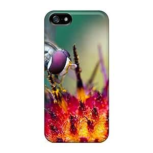High Grade AbbyRoseBabiak Cases For Iphone 5/5s - Hover Fly At Work