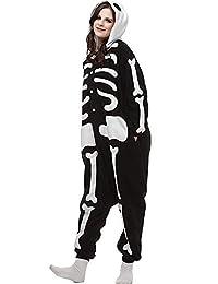 Halloween Unisex Adult Pajamas Cosplay Costume Animal Onesie Sleepwear Nightwear
