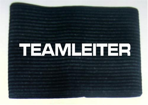 Armbinde bedruckt mit TEAMLEITER / schwarz / 3304 DRUCKREICH