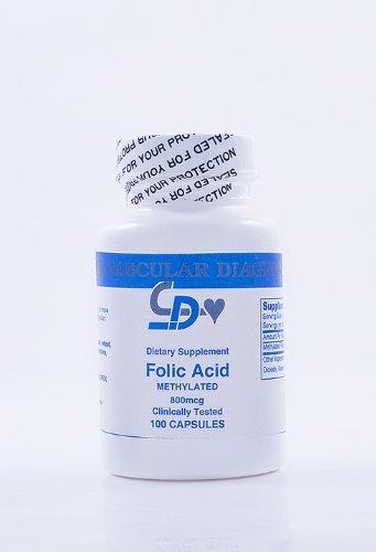 Methylated Folic Acid mcgs caps