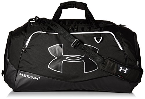 Under Armour Storm Undeniable II Duffle, Black/White, One Si