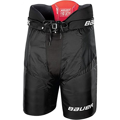(Bauer NSX Senior Hockey Pants Black Size X-Large)