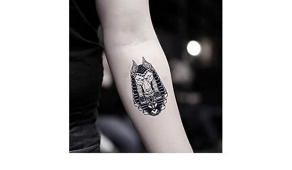 Tatuaje Temporal de Anubis (2 Piezas) - www.ohmytat.com: Amazon.es ...